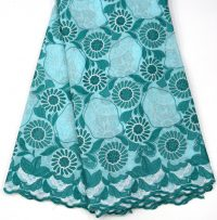 tecido de renda de algodão