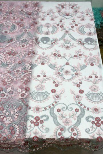 3d floral lace