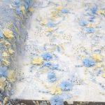 3d цветочная кружевная ткань