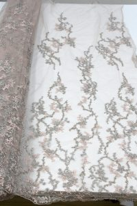 3d beaded lace