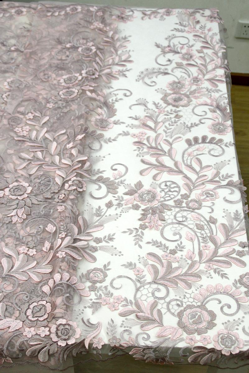3d floral lace fabrics
