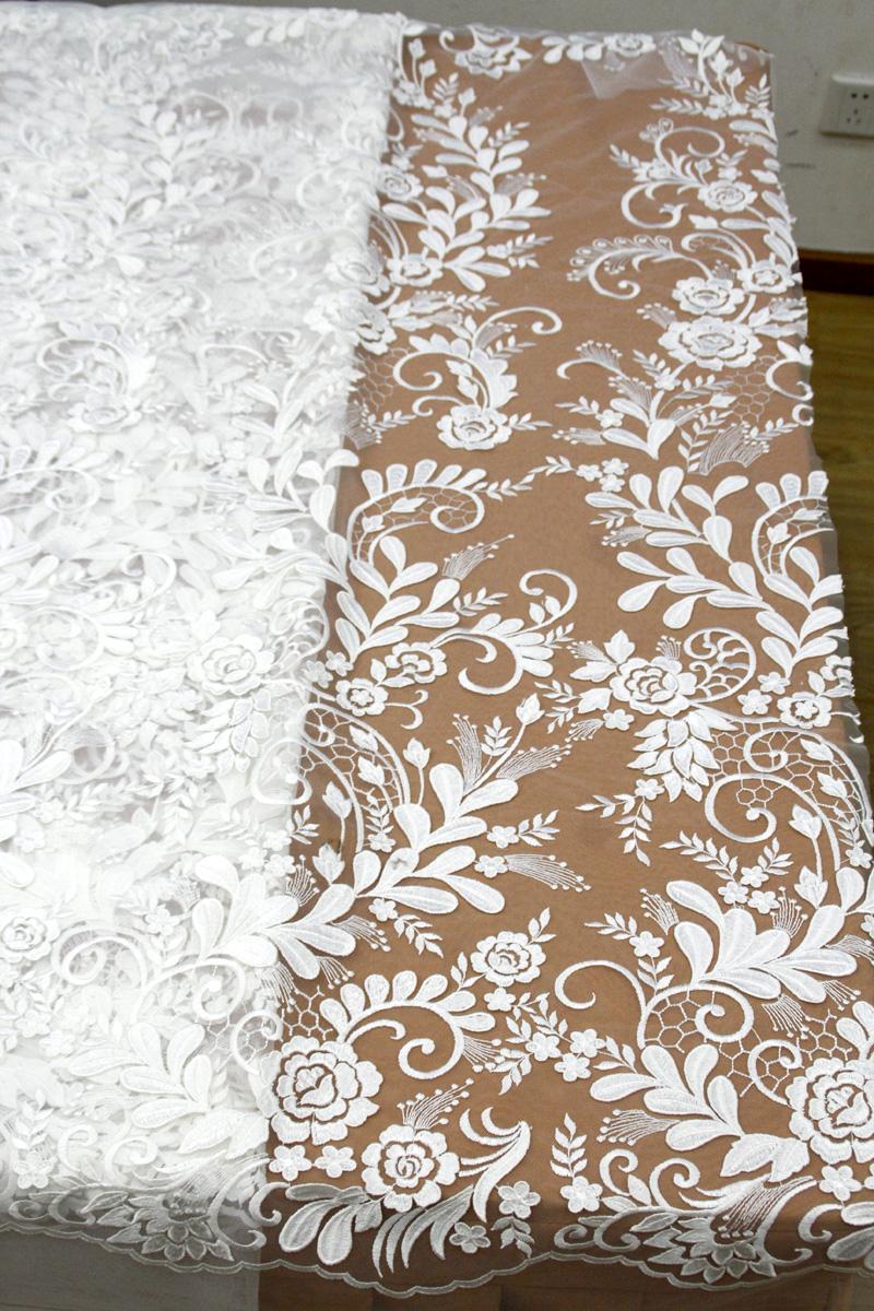 3d floral lace fabric