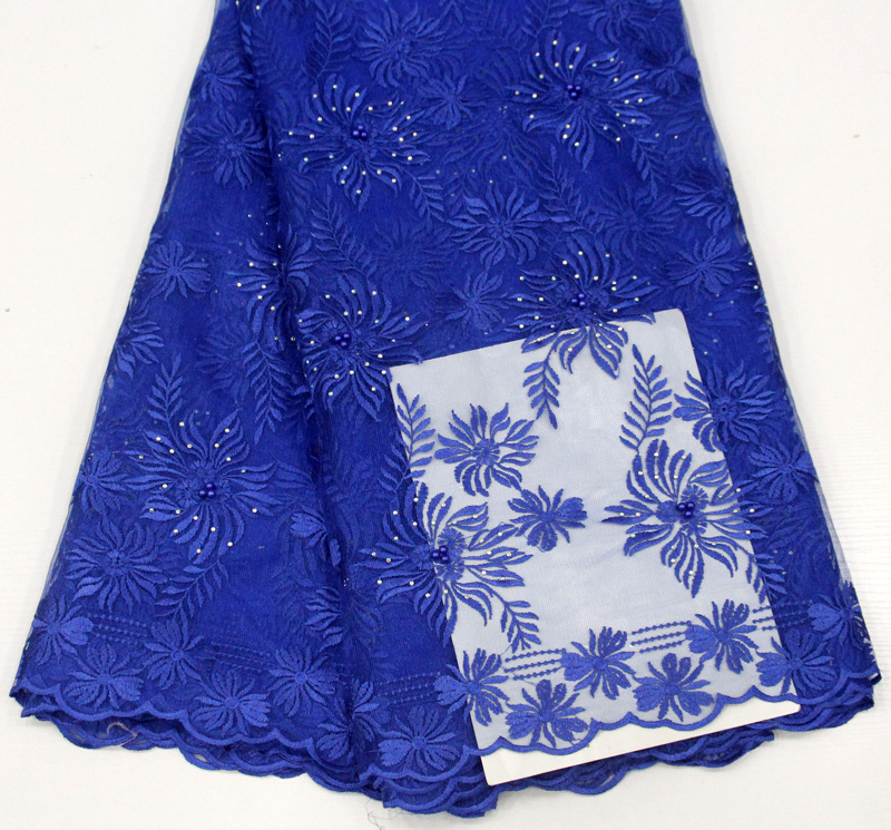 dentelle française bleu royal