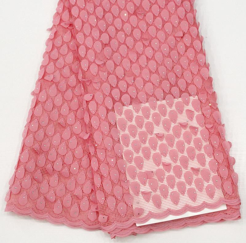 Asoebi تول أقمشة الدانتيل والتطريز زين 3D الأزهار حزب اللباس أقمشة الدانتيل