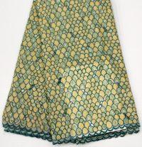 handcut organza lace fabric