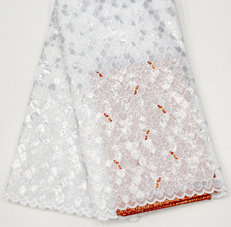 sequins lace fabric