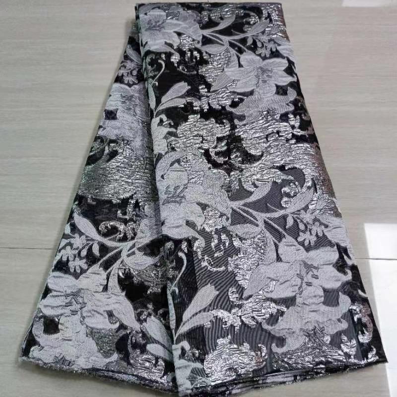 organza jaquard lace fabric
