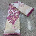 Brocade lace fabrics