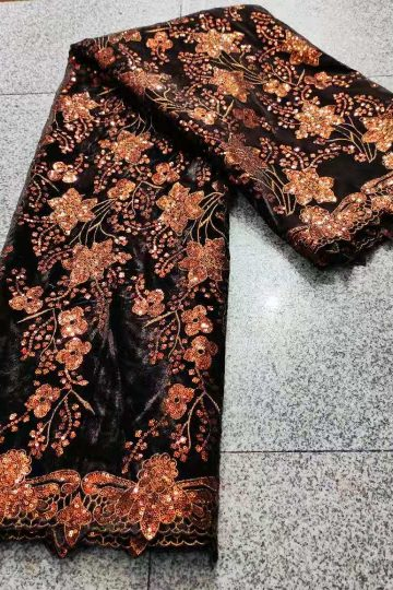 african velvet lace fabric