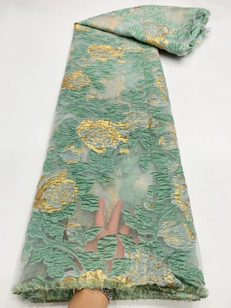 organza jaquard lace
