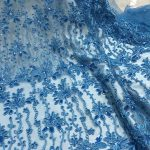 sequins embroidery lace fabrics