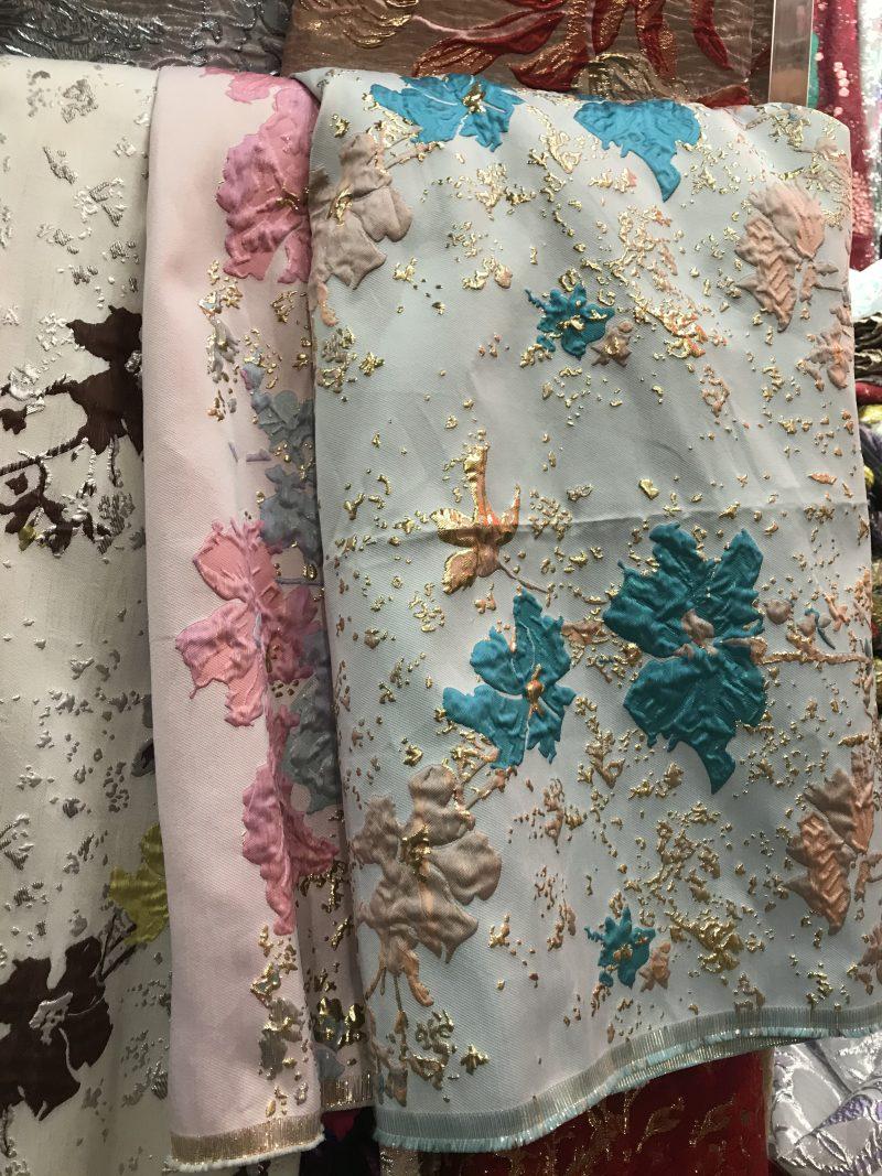 jaquard lace fabrics