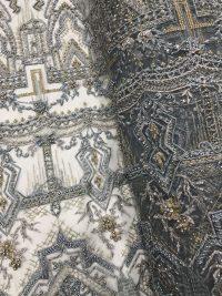 tecido de renda artesanal