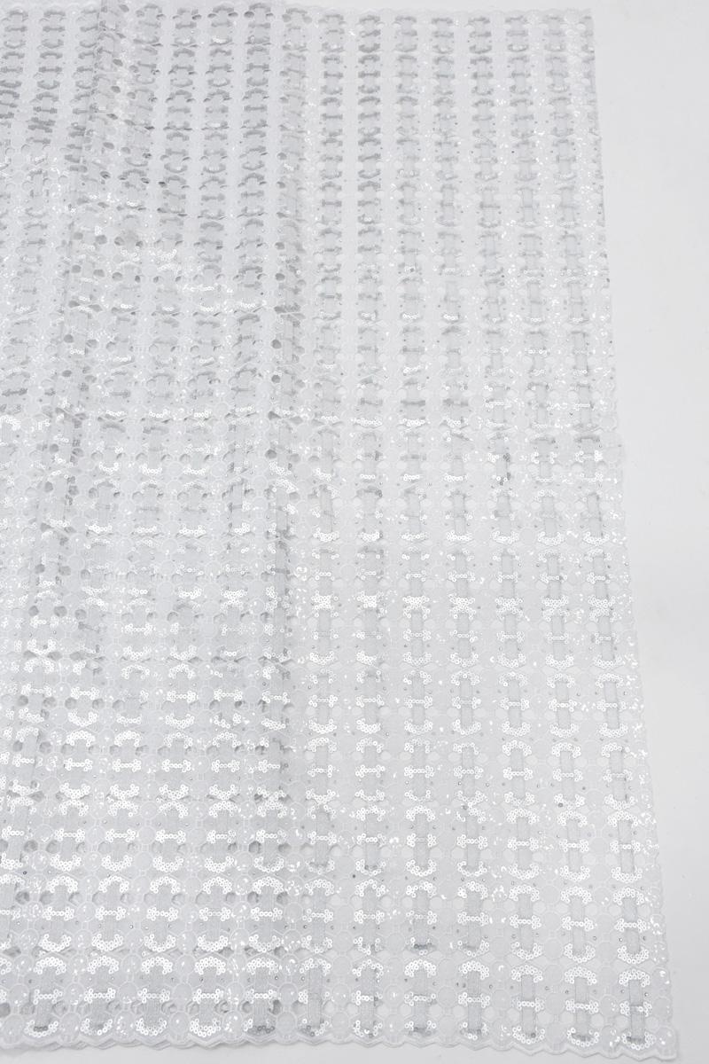 handcut organze sequins lace fabric