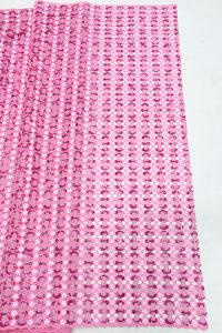 handcut sequins organze lace fabric