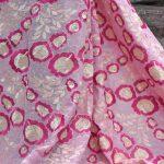 tela de encaje de algodón
