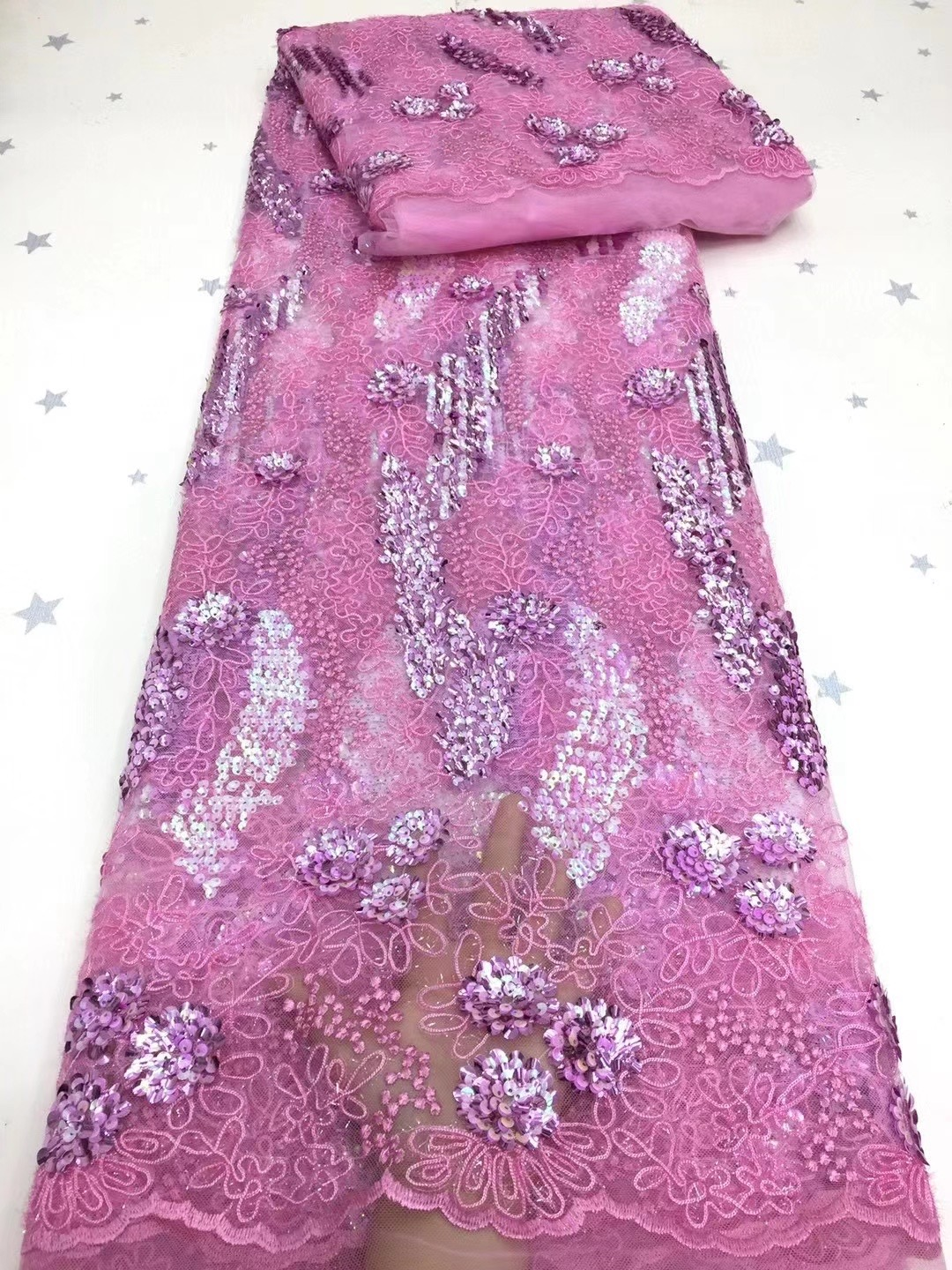 African Styles Wedding aso ebi Tulle Lace Fabric Embroidery lace