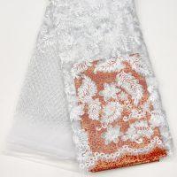 tela de encaje de tul